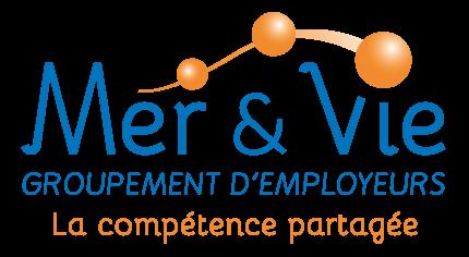 Logo Groupement Mer & Vie spécialiste du temps partagé et des compétences mutualisées sur les secteurs de Saint Gilles Croix de Vie, Aizenay et la Roche-sur-Yon