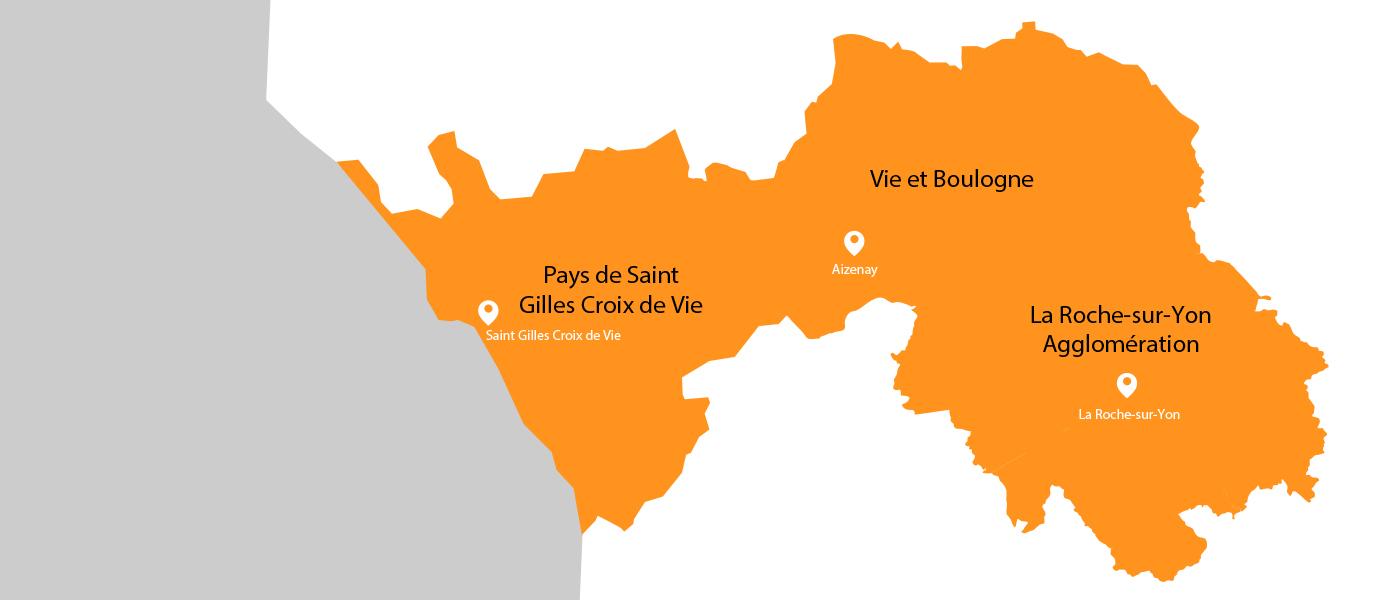 Le groupement Mer & Vie à l'écoute des entreprises en Vendée - Le GE Mer & Vie spécialiste du temps partagé et des compétences mutualisées sur les secteurs de Saint Gilles Croix de Vie, Aizenay et la Roche-sur-Yon
