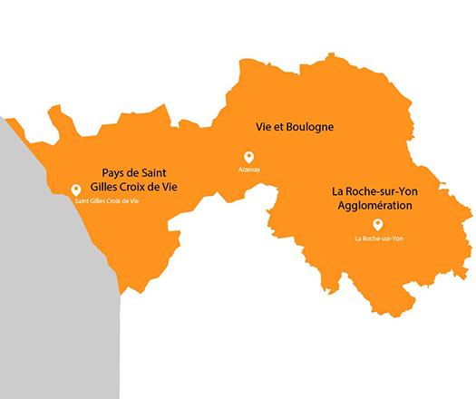 Le groupement Mer & Vie à l'écoute des entreprises en Vendée pour intégrer des salariés en CDD ou CDI - Le GE Mer & Vie spécialiste du temps partagé et des compétences mutualisées pour les entreprises des secteurs de Saint Gilles Croix de Vie, Aizenay et la Roche-sur-Yon