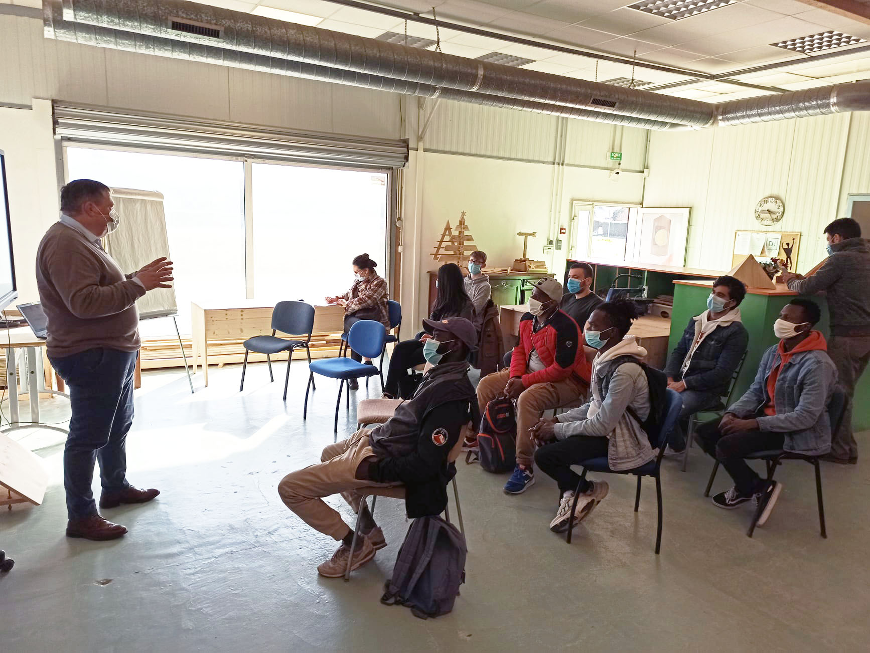 Formation Ecole à bois Aizenay